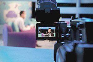 Webinar training and on-camera hosting